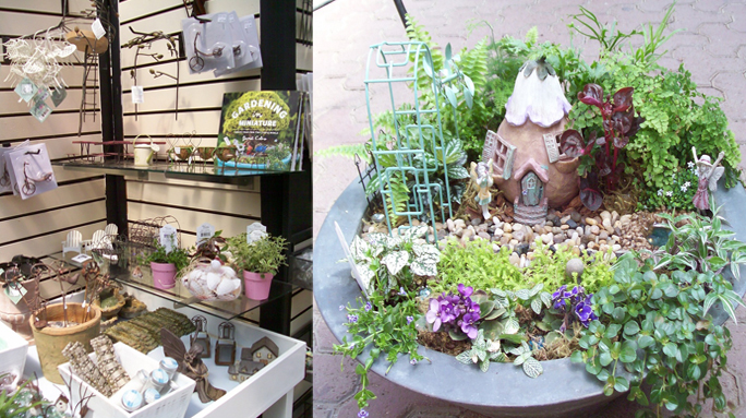 Fairy Gardening - Flowers & Supplies
